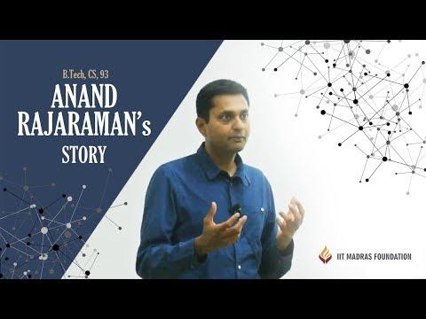 Anand Rajaraman Donor Story