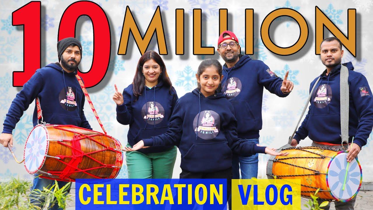 Anantya 10 Million Surprise Celebration Vlog | CookWithNisha