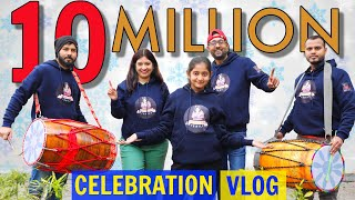 Anantya 10 Million Surprise Celebration Vlog | CookWithNisha