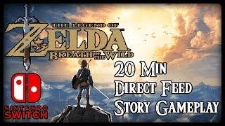 THE LEGEND OF ZELDA BREATH OF THE WILD - STORY DEMO - Nintendo Switch - Die ersten 20 Minuten