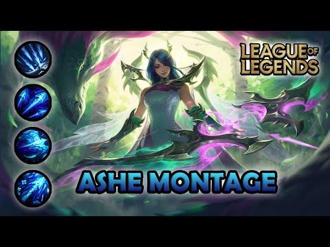 ASHE MONTAGE - 300 IQ | Fae Dragon Ashe Skin