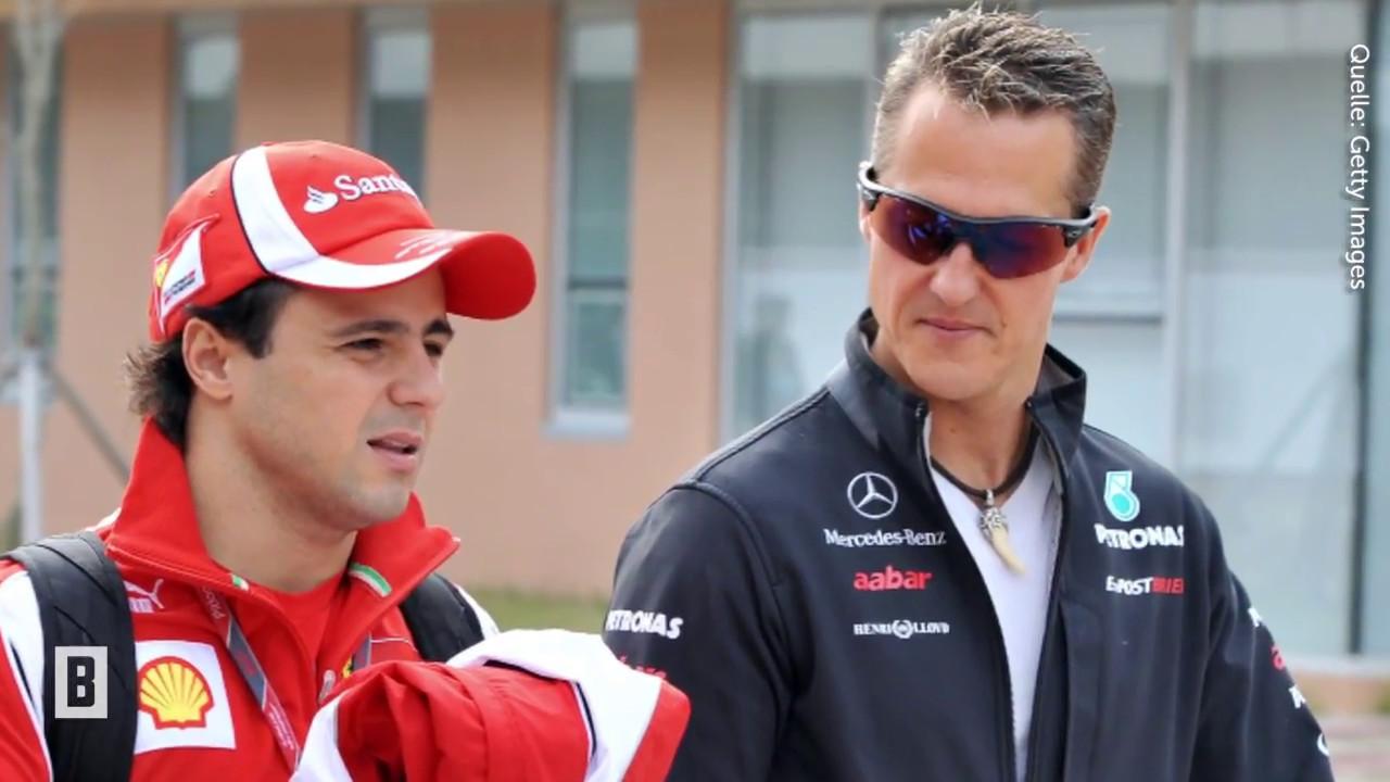 Diese Worte seines Ex-Teamkollegen sorgen für Verwunderung - Michael Schumacher  - BUNTE TV