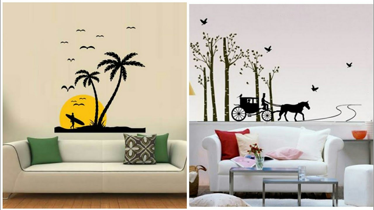 Best tree wall painting designs ideas for home decoration