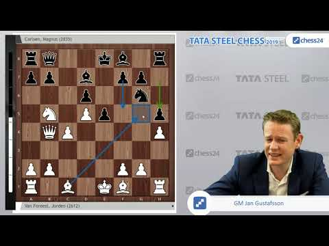 Van Foreest-Carlsen, Tata Steel Chess 2019: Can Magnus Carlsen end his streak of 21 draws?