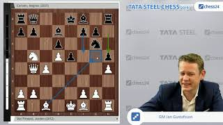 van Foreest - Carlsen, Tata Steel Chess 2019: Can Magnus Carlsen end his streak of 21 draws?