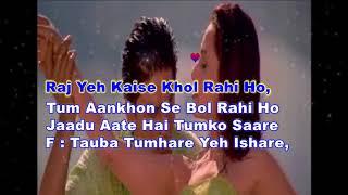 Tauba Tumhare Yeh Ishaare Karaoke