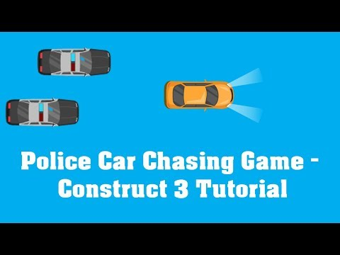 Construct 2/3 Tutorial -Police Car Chasing Game thumbnail