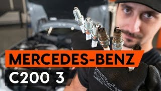 Як поміняти свічки запалювання / свічки запалювання MERCEDES-BENZ W203 З [ІНСТРУКЦІЯ AUTODOC]