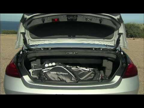 New BMW 6 Series Convertible Luggage Compartment With Opened And Closed Soft Top