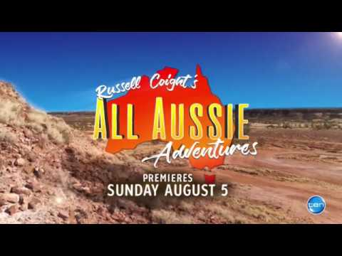 Russell Coights All Aussie Adventures  Network 10 promo 2
