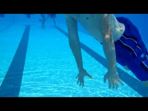 Underwater Cam at the ARC Pool at UIUC, July 2010 - HD