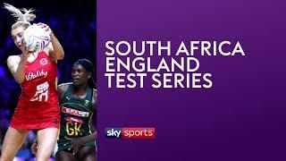 LIVE NETBALL! South Africa vs England | Match 2