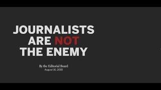 FAKE NEWS: US-Medien warnen vor Ende der Pressefreiheit durch Trump