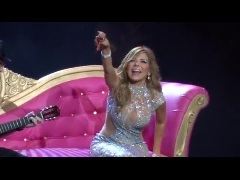 Gloria Trevi Concierto Guadalajara 2016 El amor world tour Laberinto de los Famosos