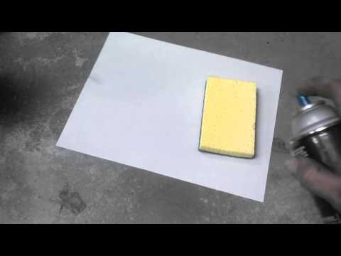 How To Paint Raised Lettering