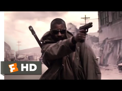 The Book of Eli (2010) - Street Shootout Scene (5/10) | Movieclips