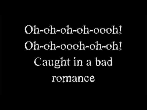 Bad romance lyrics youtube