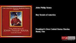 John Philip Sousa, Boy Scouts of America