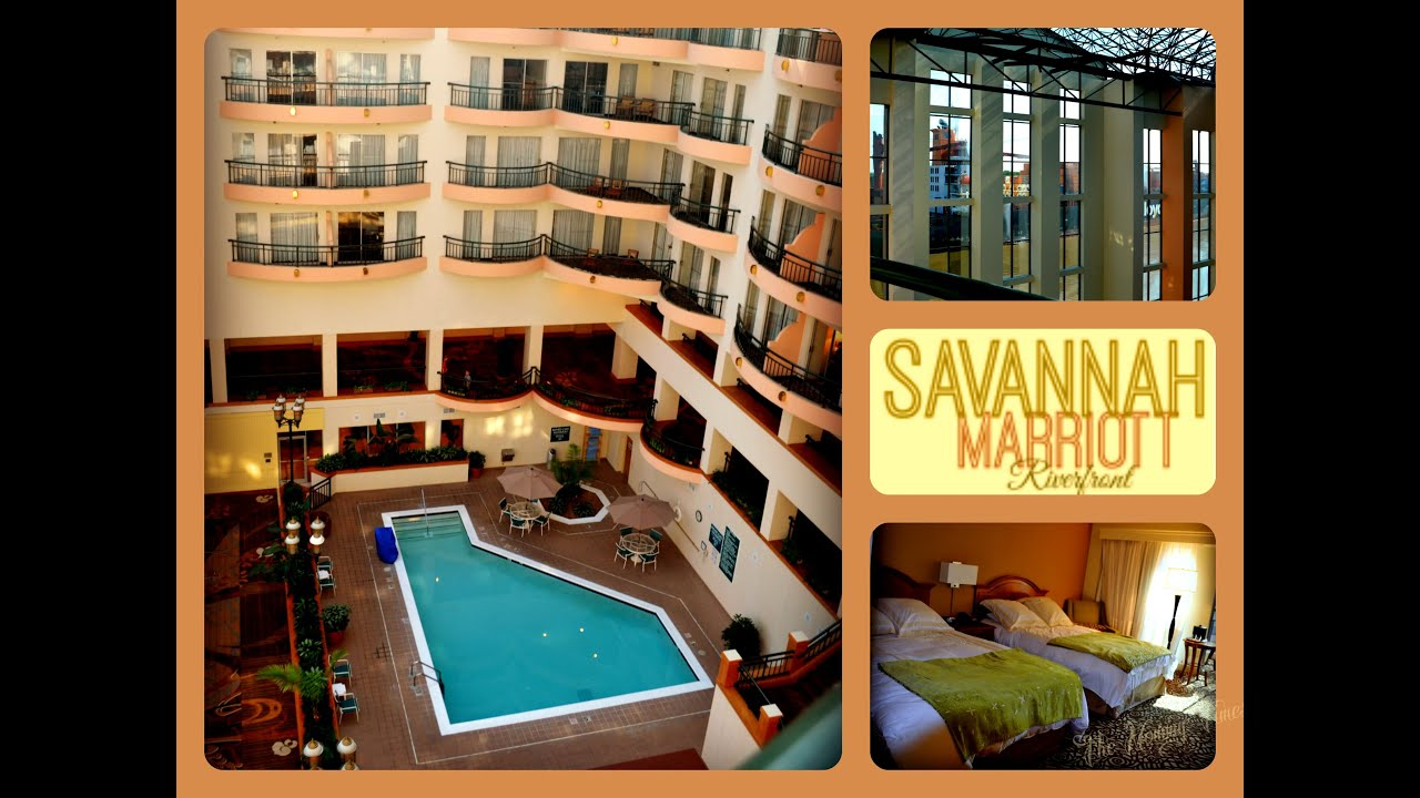 Marriott Savannah Riverfront Hotel Tour Suite