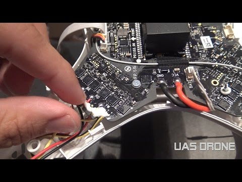 DJI Phantom 3 Mainboard And Motor Removal
