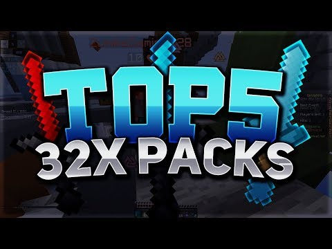 Top 5 32x Packs for Minecraft SKYWARS