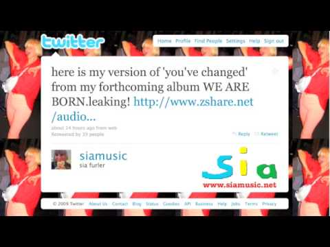 Sia - You've Changed (Full Length) from We Are Born album