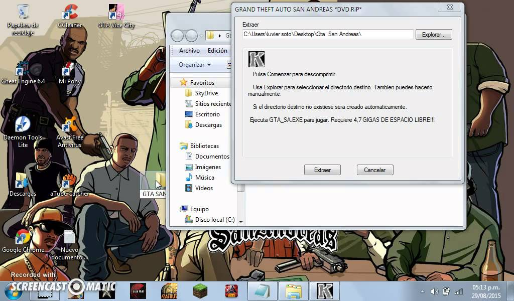 Descargar Gta San Andreas Full Pc Mega Mediafire Youtube