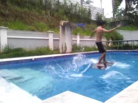 how to make a skimboard pool