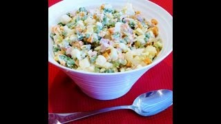 How To Make A Russian Salad From Loretta's Kitchen
