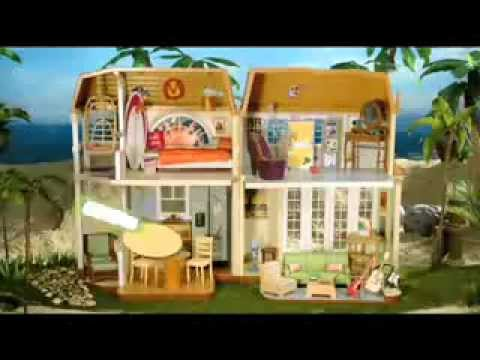 Hannah Montana Malibu Beach Doll House Youtube