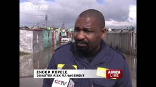 Winter storm hits Cape Town, South Africa