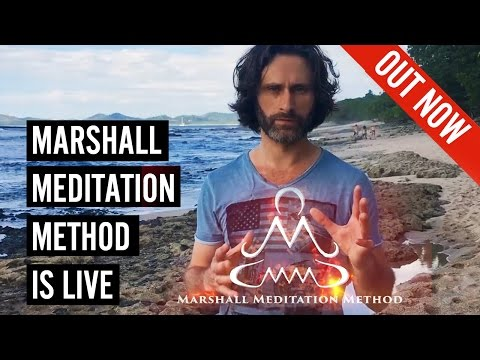 Marshall Meditation Method is live NOW!  World's first Meditation Course for Seduction
