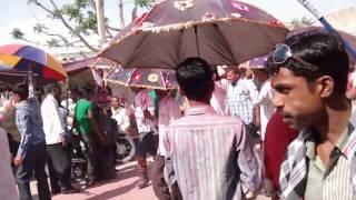 Rajasthani gair dance of sojat city 2014