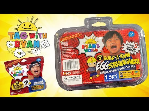 Mr. Potato Head IRL Opens Ryan's World Toys For Halloween, Tag With Ryan Game Tubey Toys