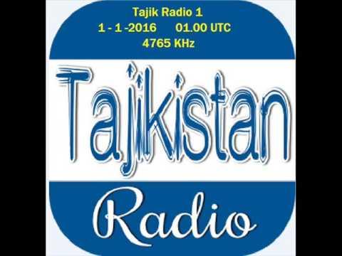 TAJIK RADIO 1 4765 KHz