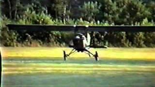 Corvair powered Pietenpol take off