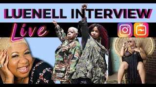 Live IGTV Interview with Luenell, the Bad Girl of Comedy