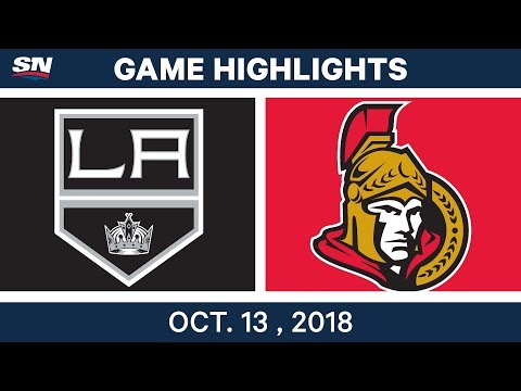 NHL Highlights | Kings vs. Senators - Oct. 13, 2018