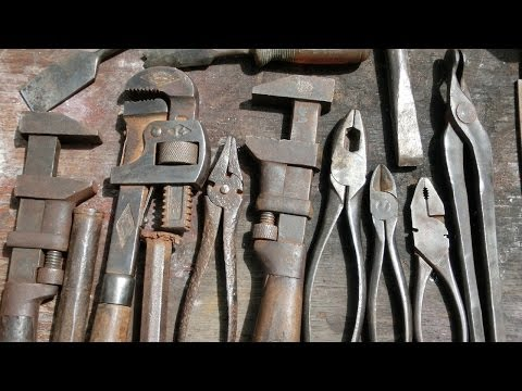 Removing Rust From Old Tools
