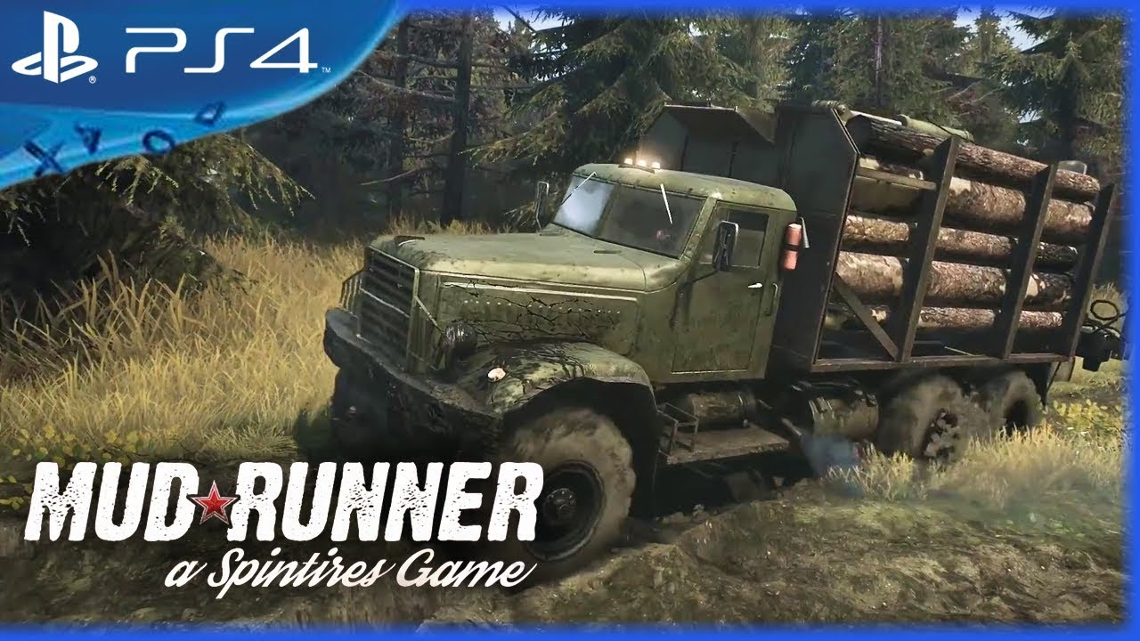 spintires mudrunner 2017 gameplay trailer ps4 youtube. Black Bedroom Furniture Sets. Home Design Ideas
