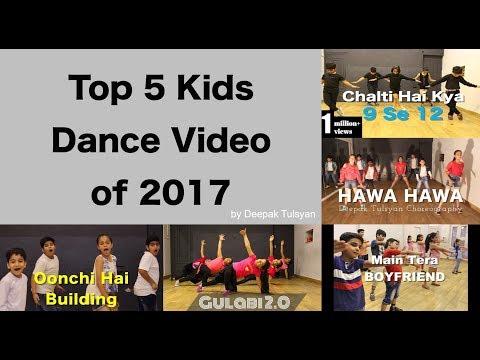 Top 5 Kids Dance  of  by Deepak tulsyan  Bollywood Dance
