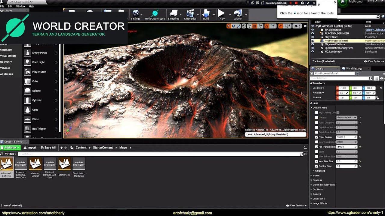 ArtStation - Andrew Krivulya - World Creator 2  How to export