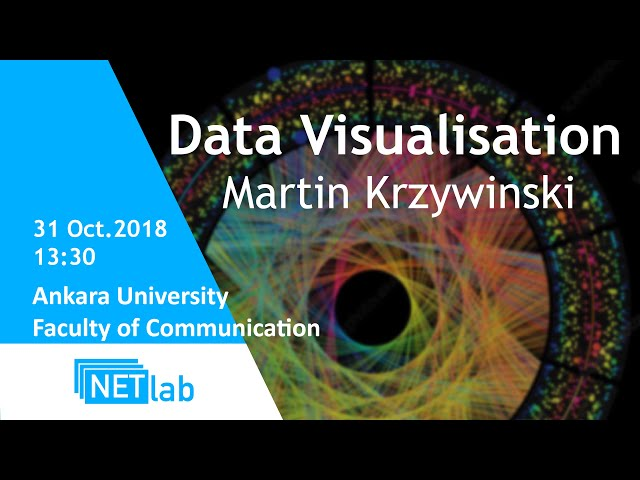 Data Visualization with Martin Krzywinski / 31.10.2018 @Ankara University Faculty of Communication