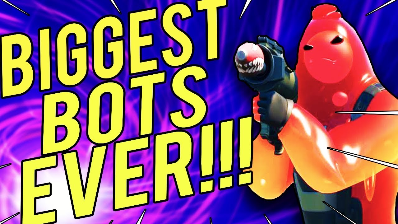 I Am The ULTIMATE BOT In Fortnite Chapter 2!!! - YouTube