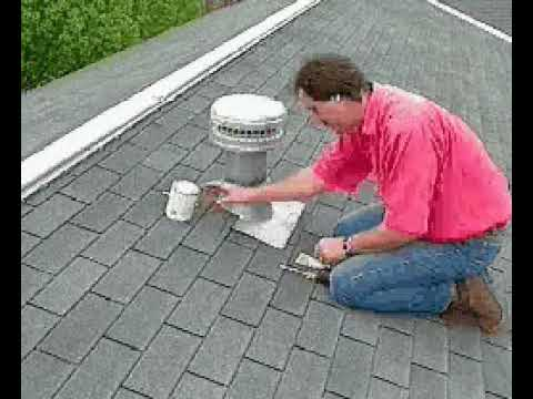 How To Repair Roof Vent Leaks Youtube