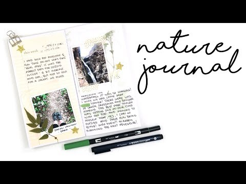 HOW TO // Travelers Notebook Nature Journal