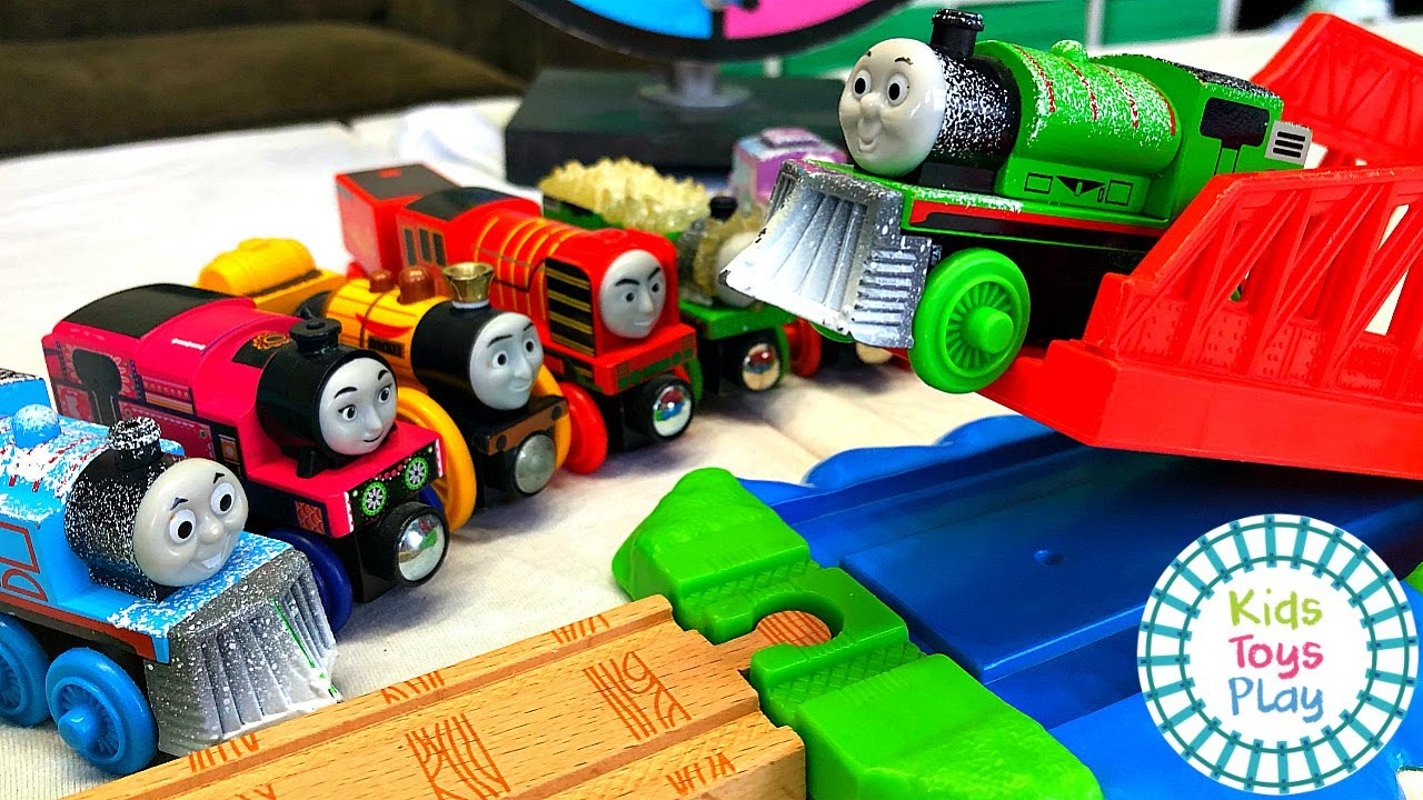 Learn Colors with Thomas & Friends Jumping Competition