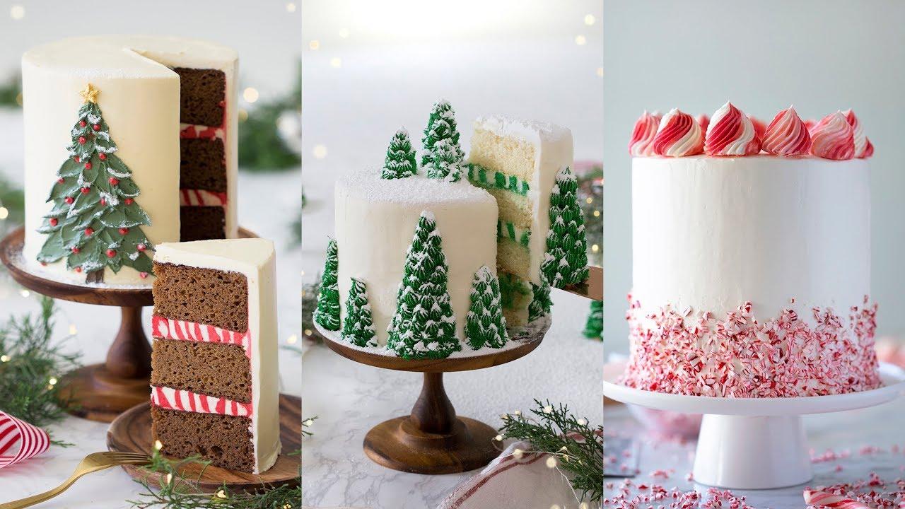 Amazing Christmas Cake Decorating Compilation Youtube