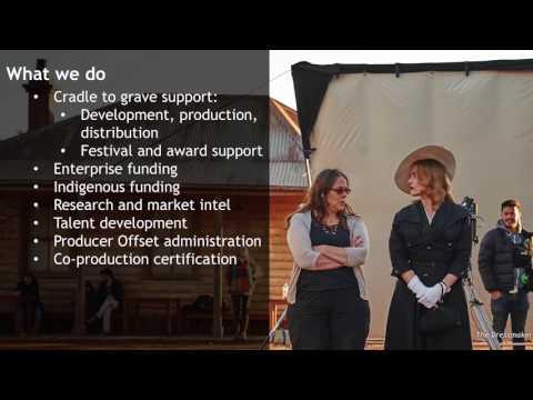 Screen Production Best Practice Seminar, 2017: Graeme Mason, CEO, Screen Australia, Pt 1