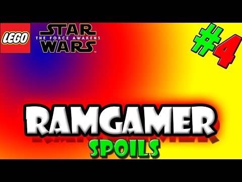 RAMGamer Spoils - Lego Star Wars the force awakens - Ep 4 - Singing Time!